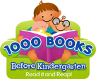 1000 Books Before Kindergarten continues in 2021!