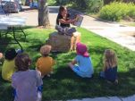 Storytime on the Lawn